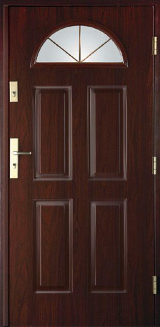 4+2 C - drzwi wejściowe do domu - Linia Thermika Felc - MIKEA