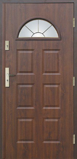 6+2 C - drzwi wejściowe do domu - Linia Thermika Felc - MIKEA