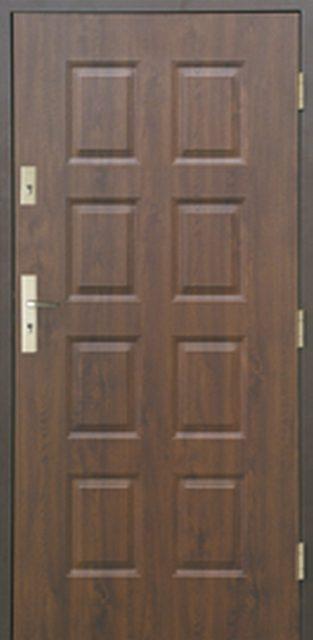 8-paneli-a - drzwi do domu jednoskrzydłowe - MIKEA
