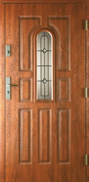 9-paneli-a - drzwi do domu jednoskrzydłowe - MIKEA