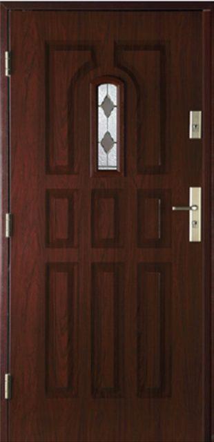 9 paneli B - drzwi wejściowe do domu - Linia Thermika Felc - MIKEA