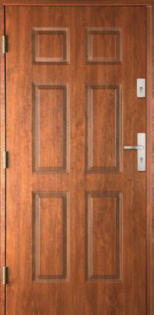 drzwi-42-panele - drzwi wejściowe do domu - Linia Thermika Felc - MIKEA