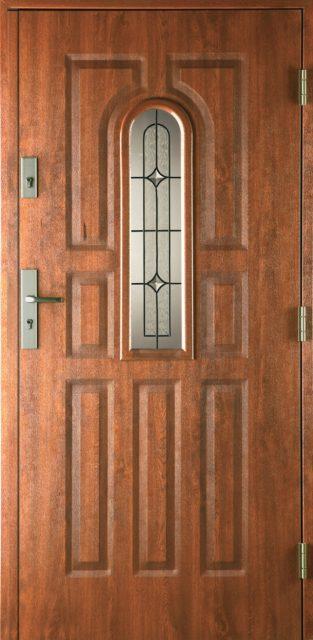 9-PANELI-witraż-A - drzwi wewnątrzklatkowe - Linia Prima