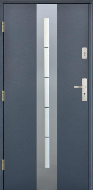 drzwi-centro - drzwi wejściowe do domu - Linia Thermika Felc - MIKEA