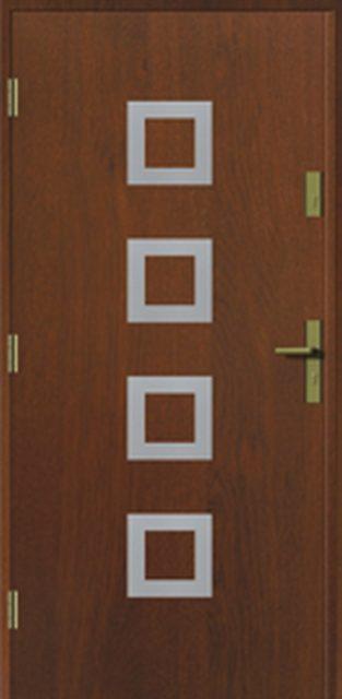 kwadro-apl - drzwi do domu jednoskrzydłowe - MIKEA