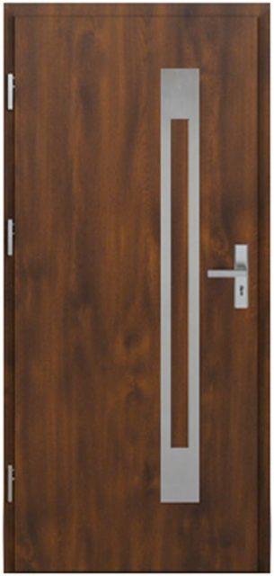 corte1 z aplikacją cra1 - drzwi wejściowe do domu - Linia Thermika Felc - MIKEA