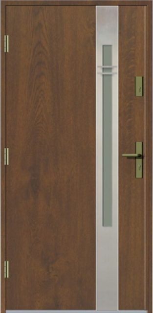 elevado1 3d - drzwi do domu jednoskrzydłowe - MIKEA
