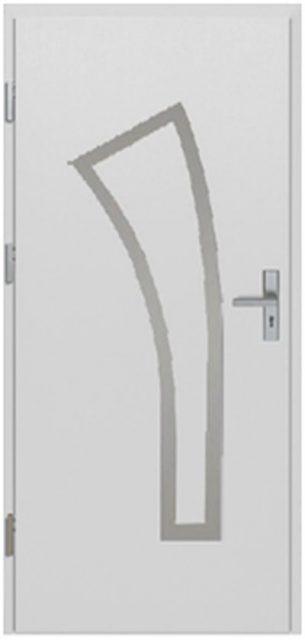 herba inox z aplikacją - drzwi do domu jednoskrzydłowe - MIKEA