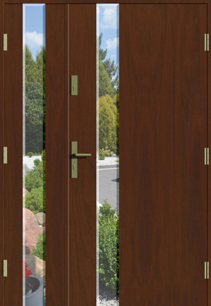 Ogromny Drzwi Dwuskrzydłowe - Producent drzwi wejściowych – MIKEA IE92