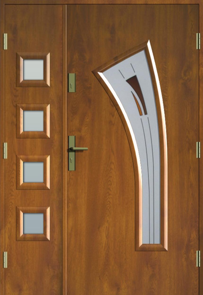 Bardzo dobry Drzwi Dwuskrzydłowe - Producent drzwi wejściowych – MIKEA JB33