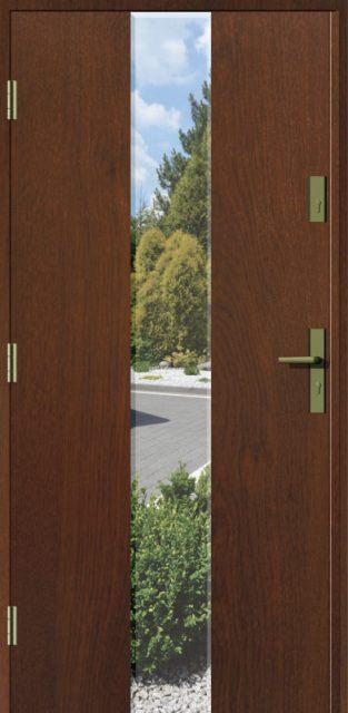 drzwi-lanzaszklo-frez - drzwi do domu jednoskrzydłowe - MIKEA