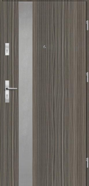 Drzwi do mieszkania - Linia Otium z ościeżnicą drewnianą - Mikea